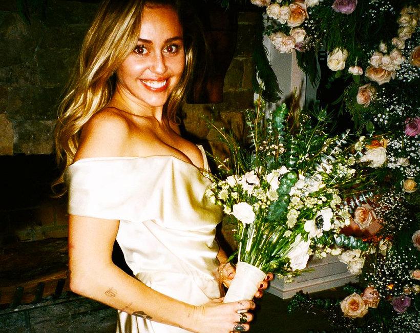 Miley Cyrus, Liam Hemsworth, ślub