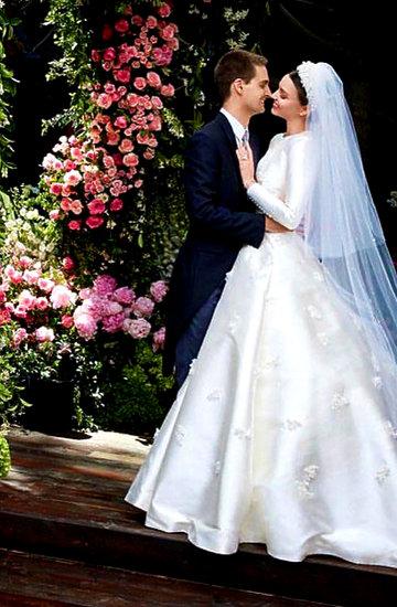 Miranda Kerr i Evan Spiegel