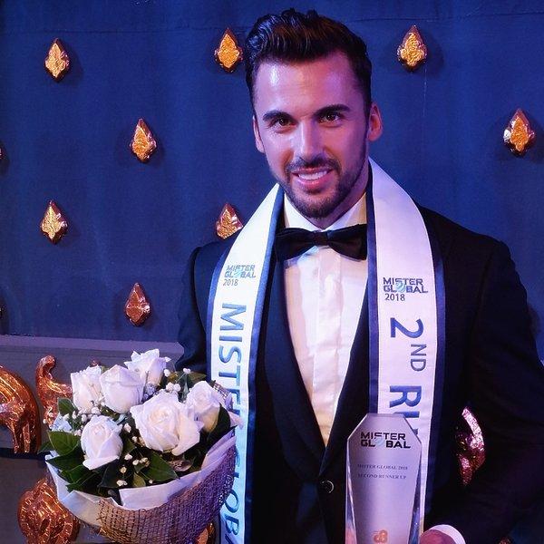 Mister Polski Jakub Kucner został drugim wicemisterem Global w Tajlandii