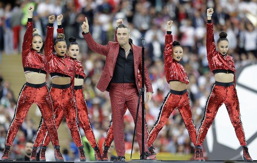 Mistrzostwa Świata w Rosji 2018, Robbie Williams
