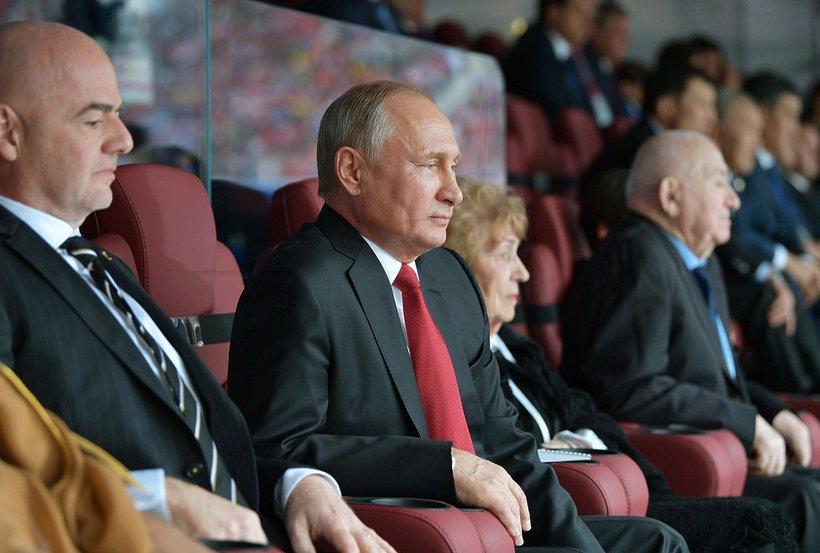 Mistrzostwa Świata w Rosji 2018, Władimir Putin