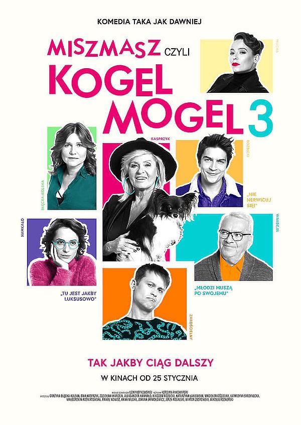 Miszmasz czyli Kogel Mogel 3, film, plakat