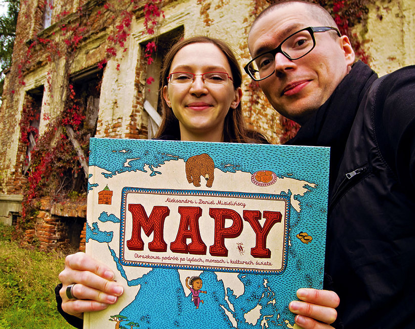 Mizielińscy i Mapy