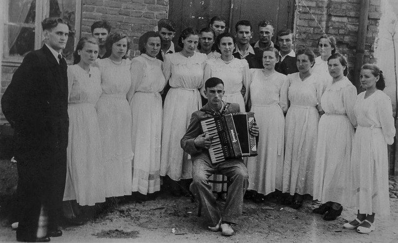 Młody Czesław Niemen