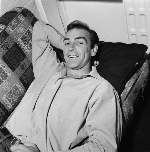 młody Sean Connery