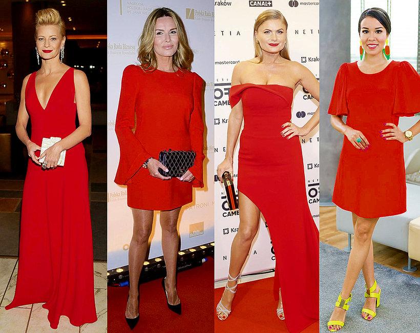 d049880210 Jakie dobrać dodatki do czerwonej sukienki