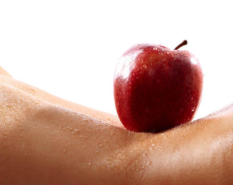moda, figura jabłko