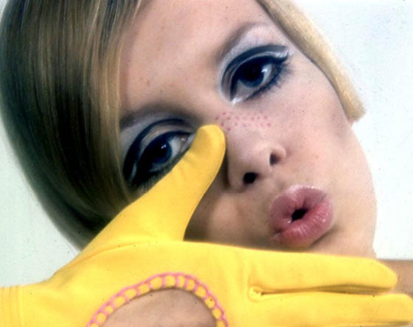 moda, lata 60., Twiggy