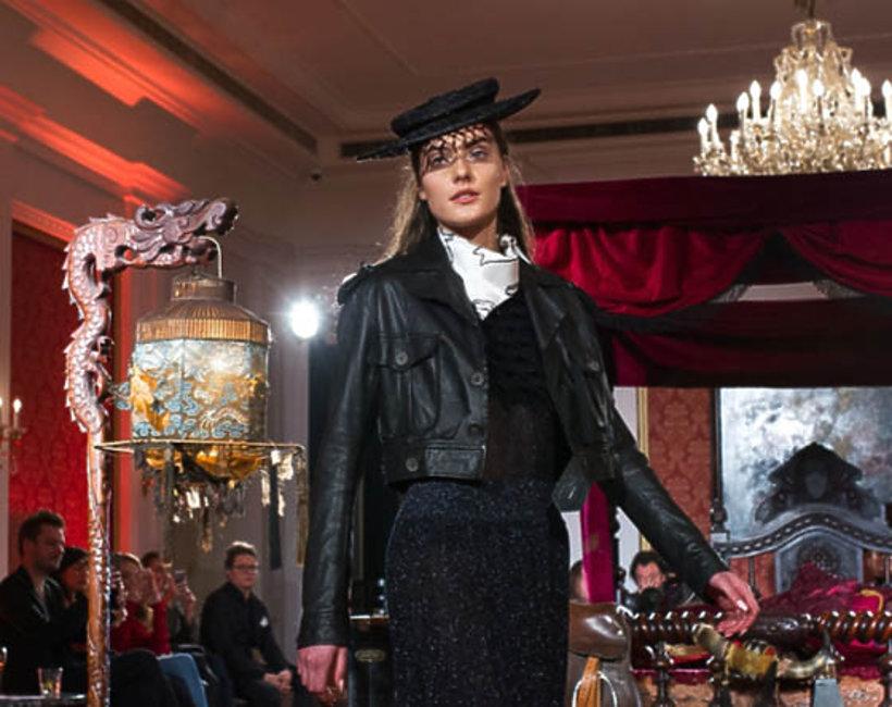 moda, polscy projektanci, pokaz Gosi Baczyńskiej w Paryżu