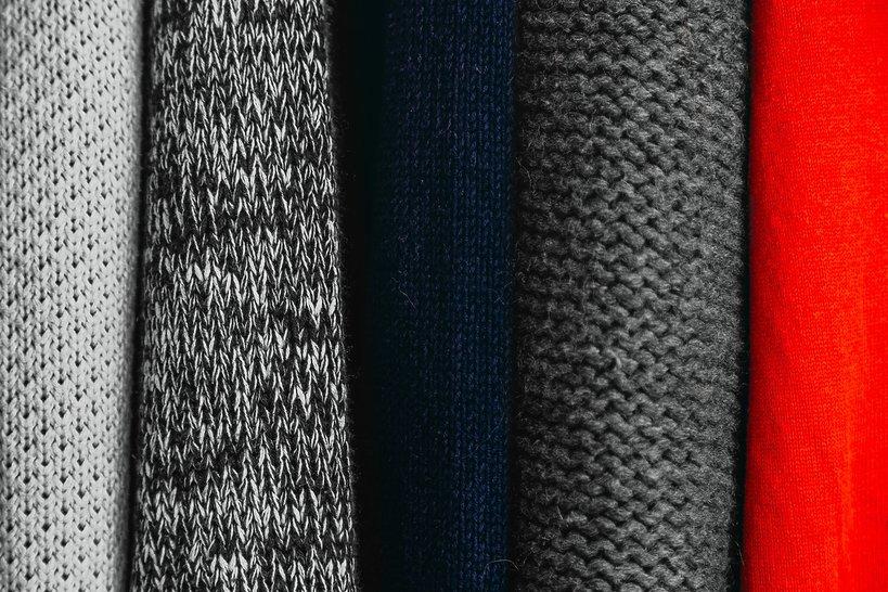 moda, rodzaje tkanin i ich właściwości