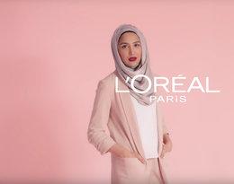 modelka w hidżabie w reklamie L'Oreal, Amena Khan