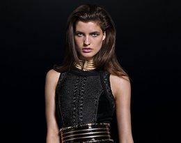 Modelka w kolekcji Balmain dla H&M