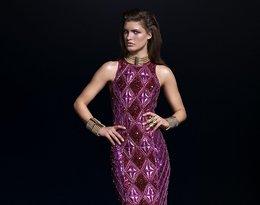 Modelka w stroju Balmain dla H&M