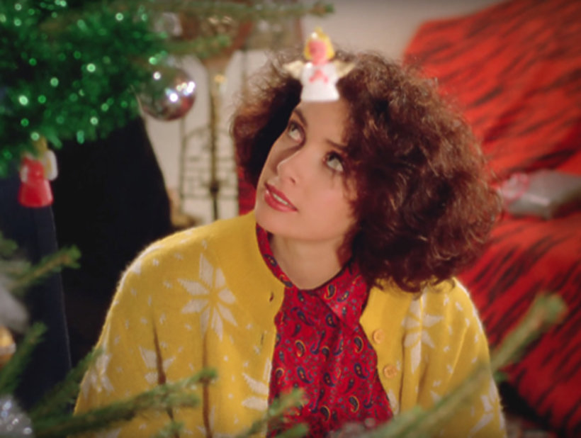 Modelka z teledysku Last Christmas Wham