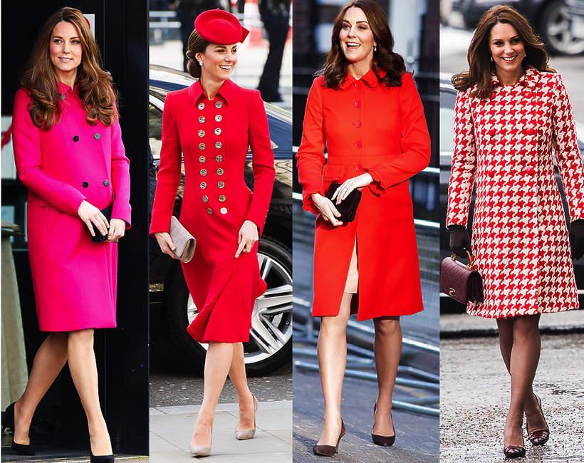 modne fasony płaszczy na wiosnę w stylu księżnej kate