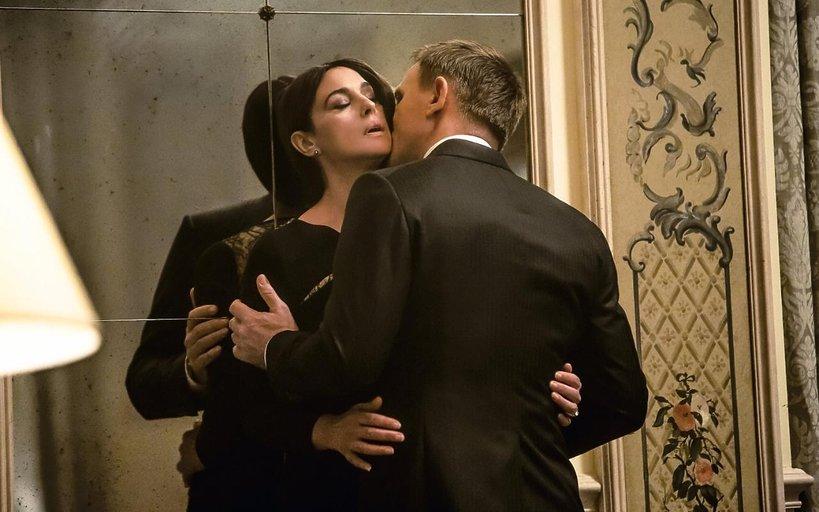 Monica Bellucci i Daniel Craig w Spectre