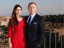 Monica Bellucci i Daniel Craig we Włoszech