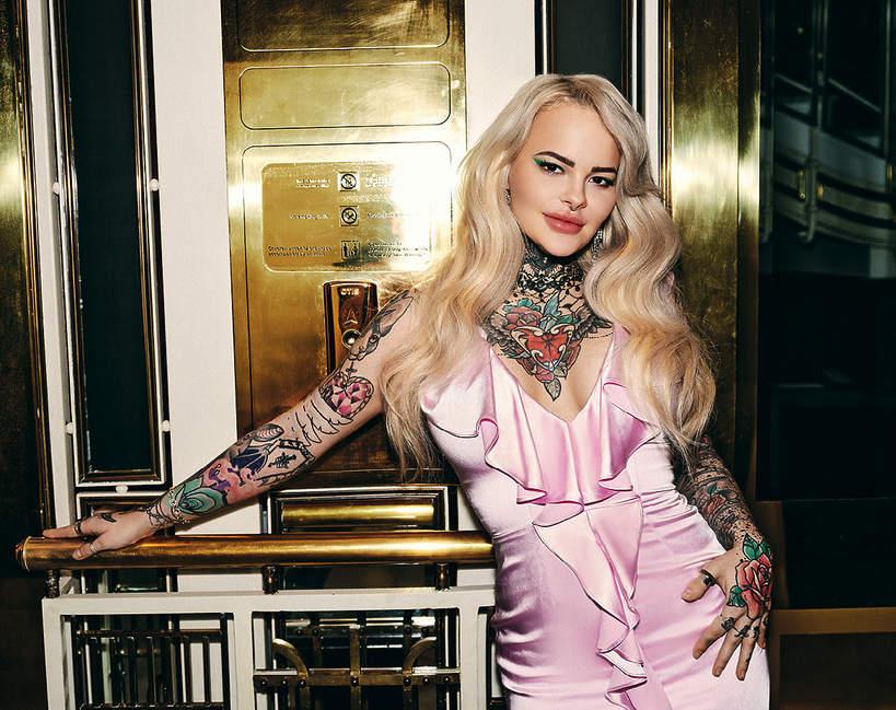 Monika Miller bez tatuaży