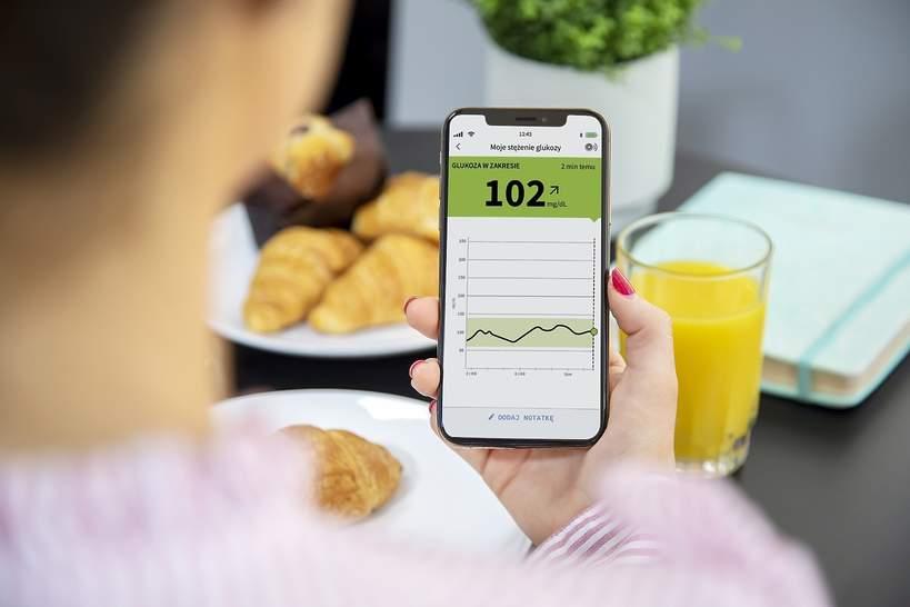 Monitoruj poziom cukru z FreeStyle Libre