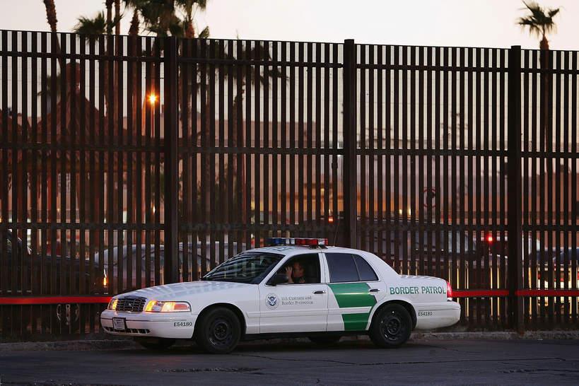 Mur Trumpa, granica USA Meksyk