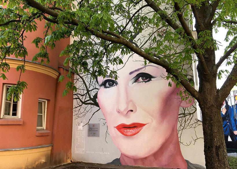 Mural Kory Wiosna