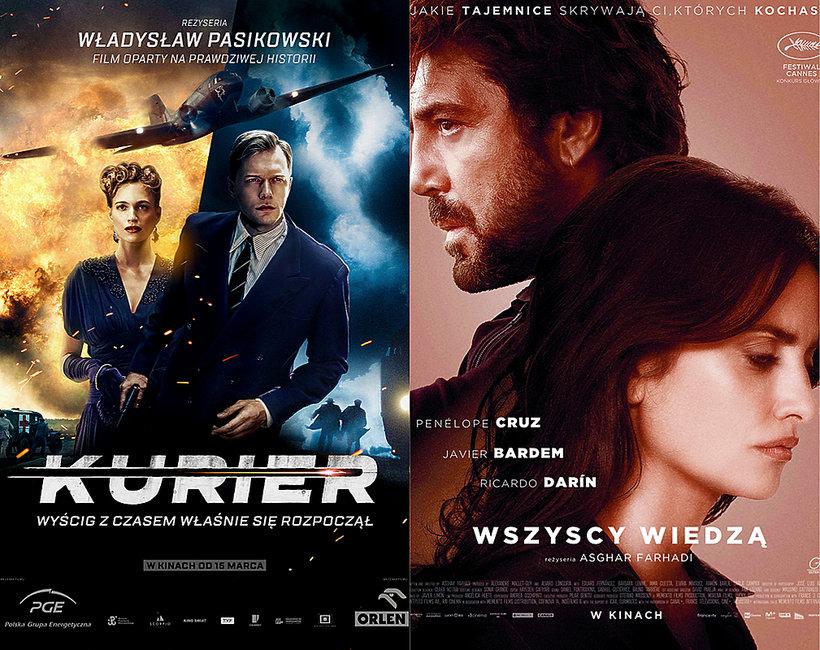 Na co warto iść do kina, Kurier, Wszyscy wiedzą, High Life