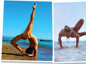 nadzy jogini jamnik
