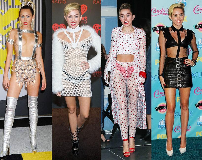 najbardziej kontrowersyjne kreacje Miley Cyrus