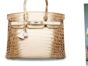 Najdroższa torebka świata Birkin Hermes'a