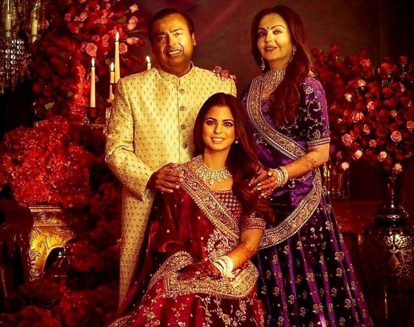 Najdroższe wesele świata