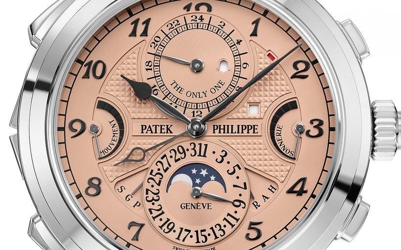 Najdroższy zegarek świata 2019