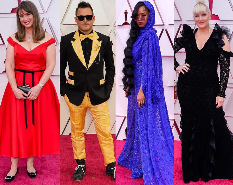 najgorsze stylizacje Oscary 2021