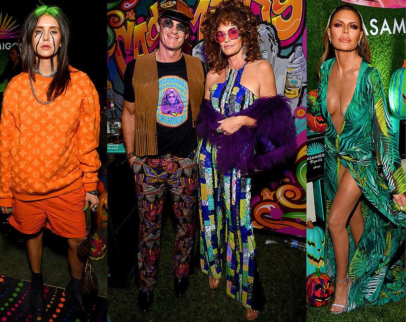 Najlepsze przebrania gwiazd na Halloween 2019, Cindy Crawford, Gerber, Lisa Rinna, Nina Dobrev