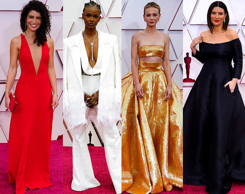 Najlepsze stylizacje Oscary 2021