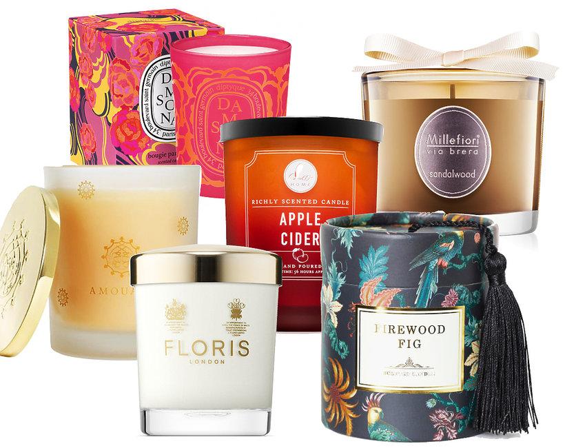 najlepsze świece zapachowe na jesień