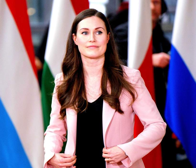najmłodsza premier świata, Sanna Marin