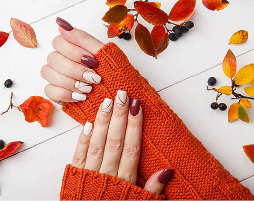 najmodniejsze kolory paznokci jesień zima 2021