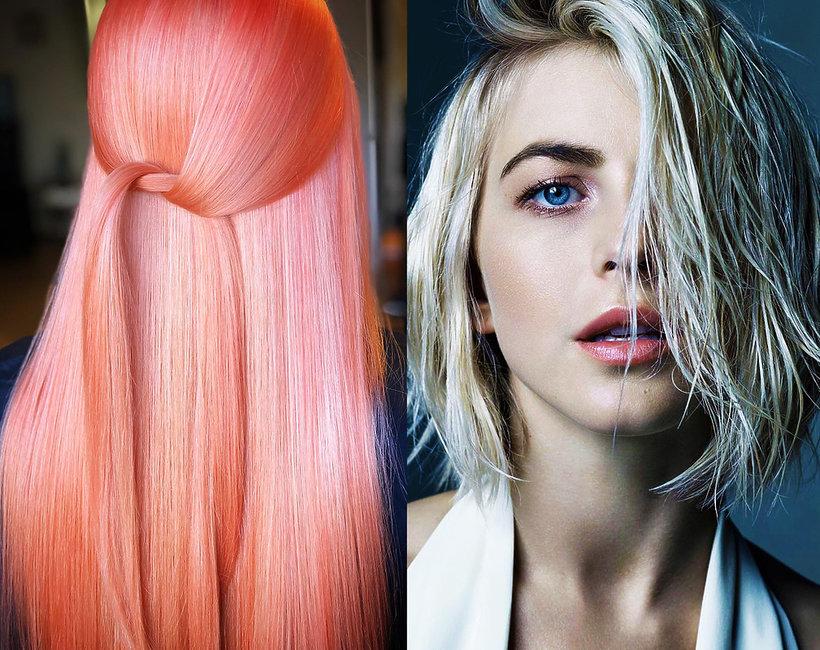 ebc5ca801b341c Najmodniejsze kolory włosów 2019: odcienie, pastele, blondy, pasemka ...