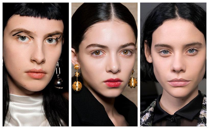 Najmodniejsze kolory włosów na jesień - trendy 2019 czarne