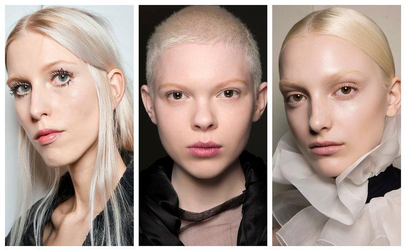 Najmodniejsze kolory włosów na jesień - trendy 2019 icy blonde