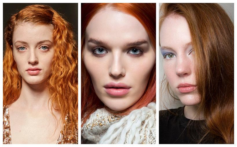 Najmodniejsze kolory włosów na jesień - trendy 2019 rude