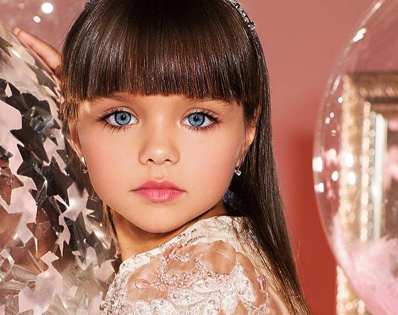 najpiękniejsza dziewczynka świata