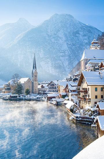 najpiękniejsze zimowe krainy