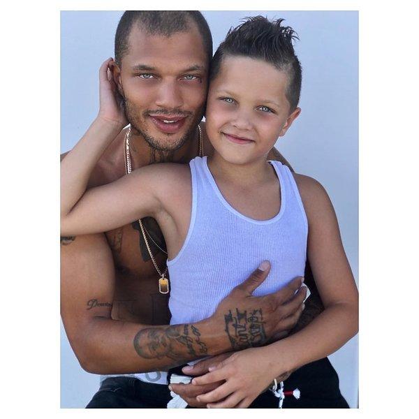 Najprzystojniejszy więzień świata, Jeremy Meeks z synem