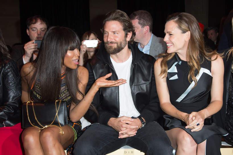 Naomi Campbell, Bradley Cooper, Jennifer Garner