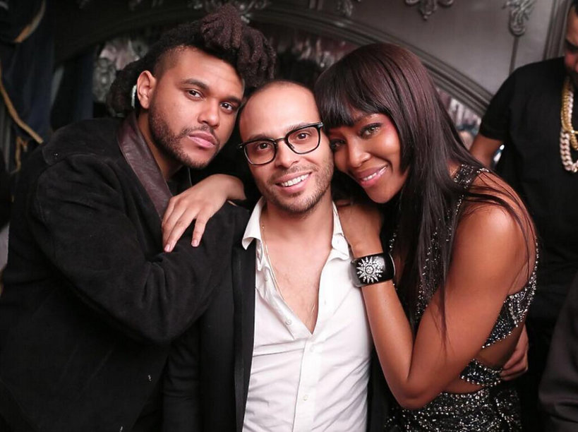 Naomi Campbell, The Weeknd, Richie Akiva