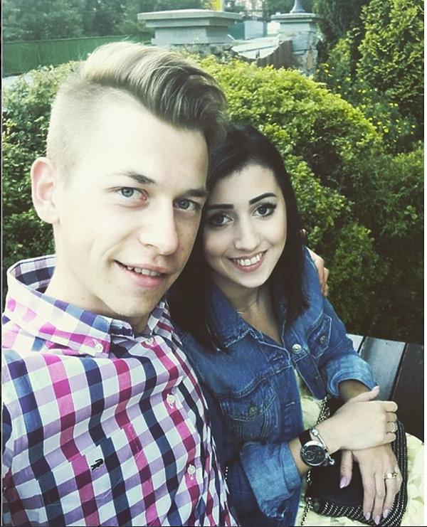 Narciarskie WAGs, Magdalena LAzar i Aleksander Zniszczoł