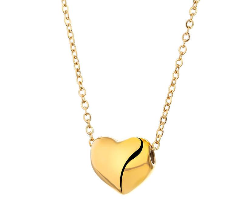 Naszyjnik z zawieszką serce