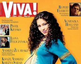 Natalia Kukulska na okładce Vivy!, lipiec 2000