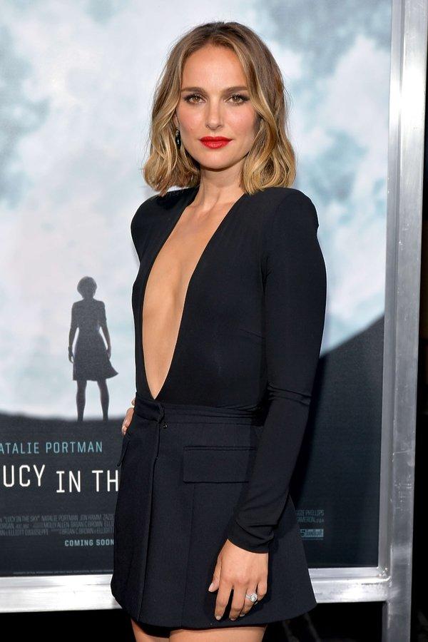 Natalie Portman na premierze filmu